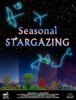 Seasonal STARGAZING poster