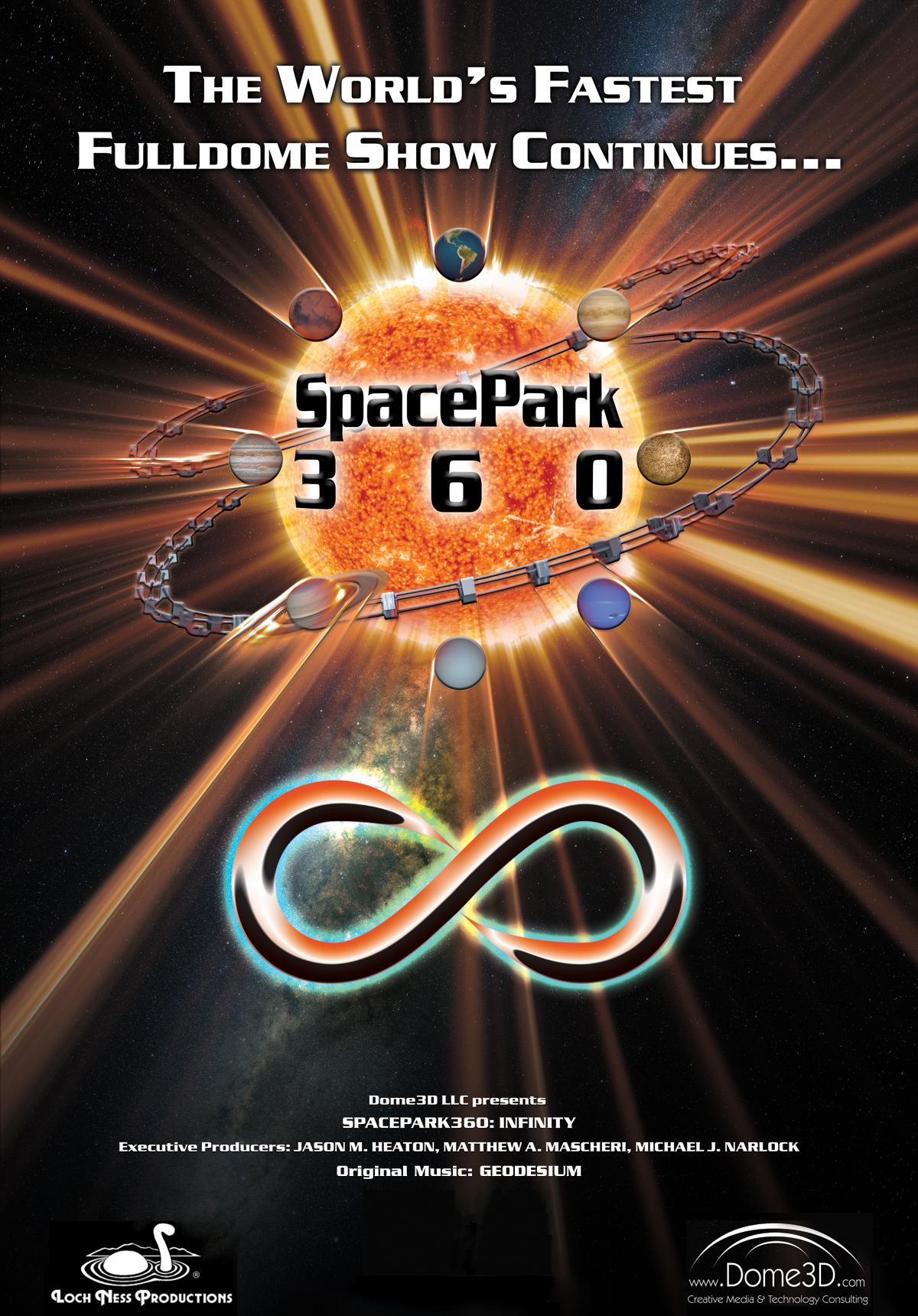 infinity 360. spacepark360: infinity poster 360