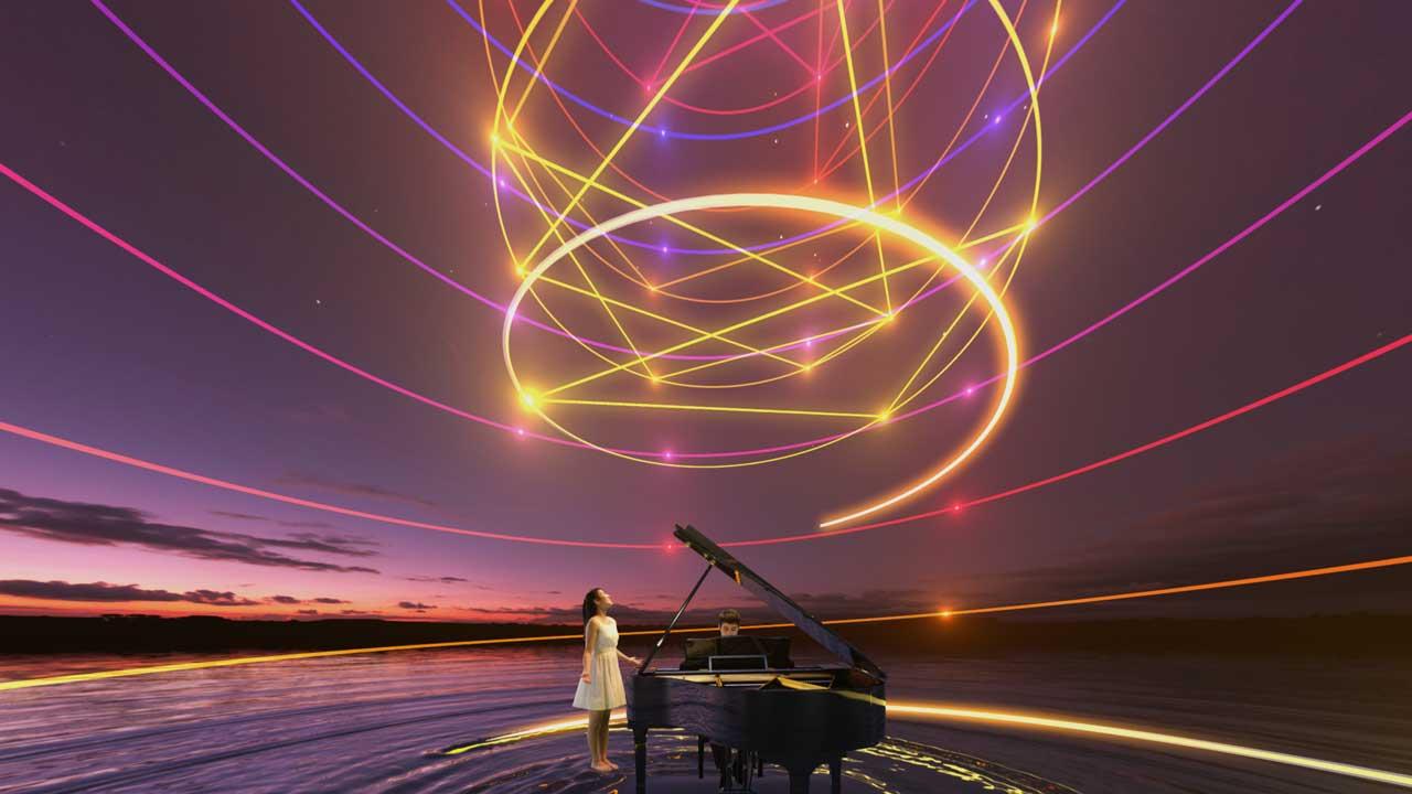 ผลการค้นหารูปภาพสำหรับ sound of music of the universe